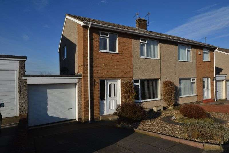 3 Bedrooms Semi Detached House for sale in Chapel Lands, Alnwick