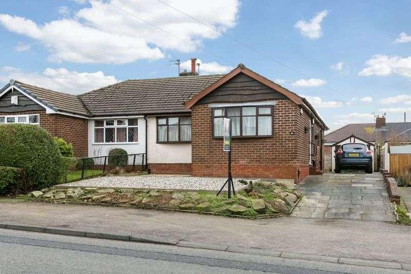 2 Bedrooms Semi Detached Bungalow for sale in Shevington Lane, Shevington, WN6 8BH