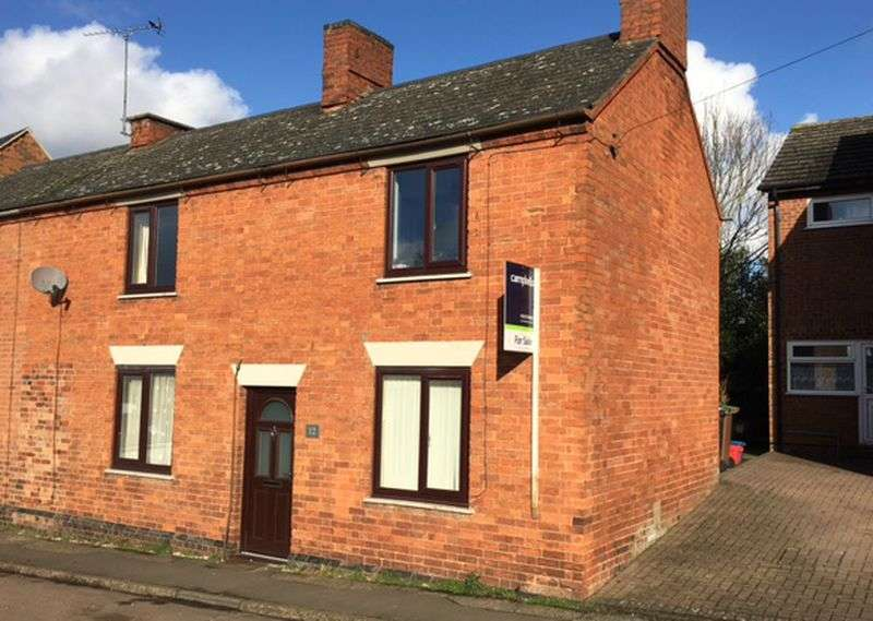 3 Bedrooms Semi Detached House for sale in Yelvertoft Road, Crick, Northampton, NN6 7TR