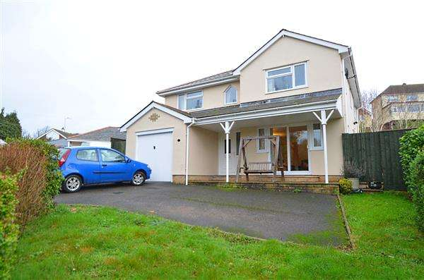 4 Bedrooms Detached House for sale in Sunny Lands Way, Holcombe Drive, Dawlish