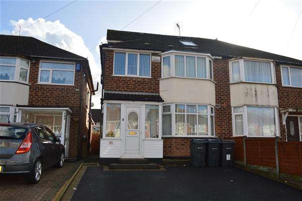 4 Bedrooms Semi Detached House for sale in Berryfield Road, Sheldon, Birmingham