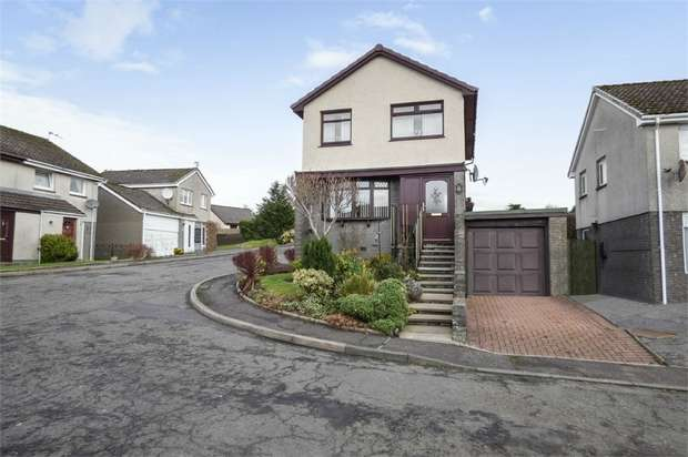 4 Bedrooms Detached House for sale in Roseburn Drive, Cumnock, East Ayrshire