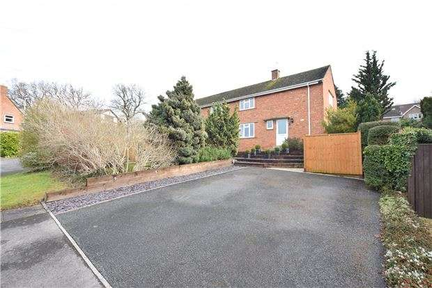 3 Bedrooms Semi Detached House for sale in Beaufort Road, Charlton Kings, CHELTENHAM, Gloucestershire, GL52 6JS