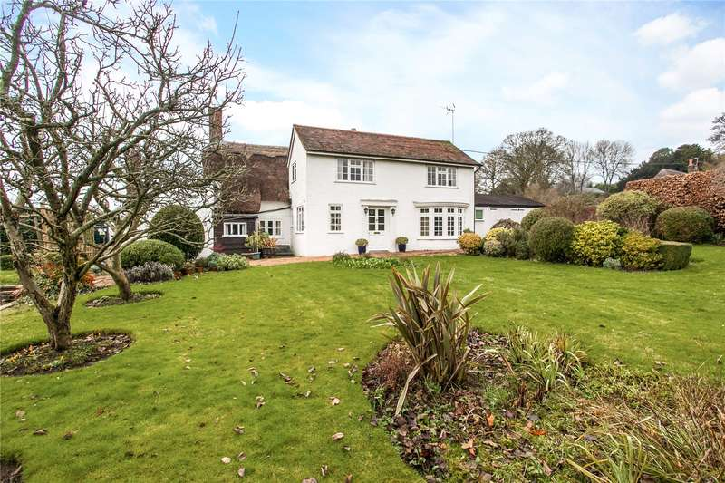 4 Bedrooms Detached House for sale in Woodman Lane, Sparsholt, Winchester, Hampshire, SO21