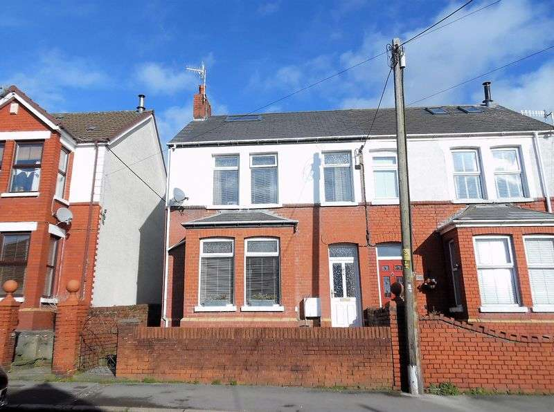 3 Bedrooms Semi Detached House for sale in Waunbant Road Kenfig Hill Bridgend CF33 6DE