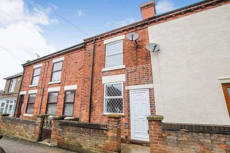 2 Bedrooms Terraced House for sale in 2 Bedroom Terrace. New Street, Swanwick, Derbyshire, DE55 1BX.