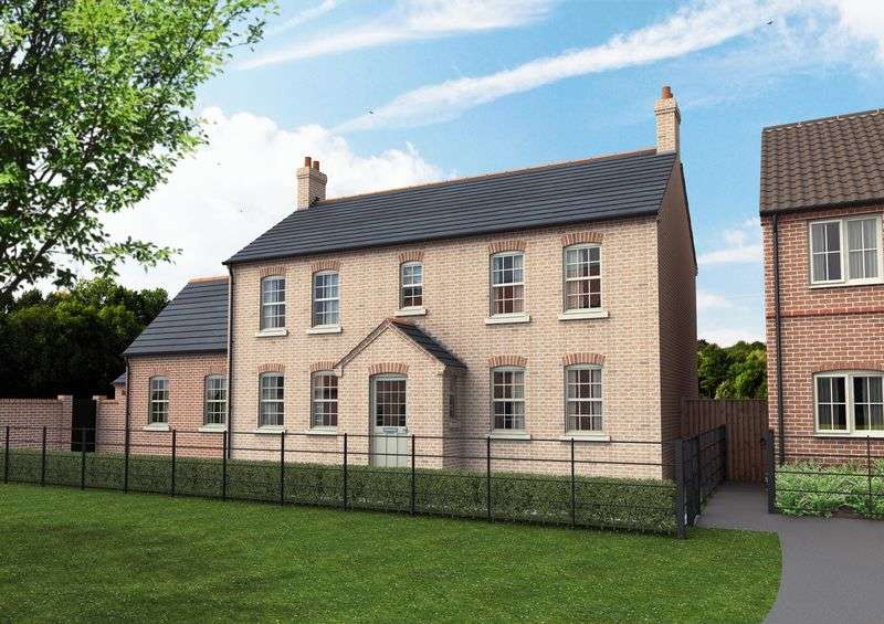 4 Bedrooms Detached House for sale in The Grange, Heath Road, Scothern