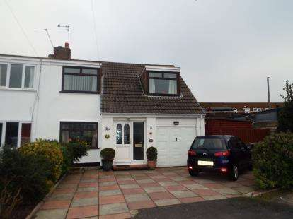 3 Bedrooms Semi Detached House for sale in Marshallsay, Formby, Liverpool, Merseyside, L37