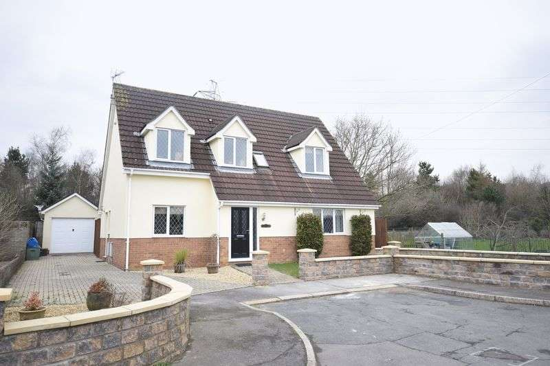 4 Bedrooms Detached Bungalow for sale in Ty Canol, 32a Meadow Close, Coychurch, Bridgend CF35 5HH
