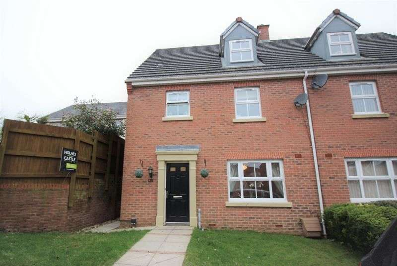 4 Bedrooms Semi Detached House for sale in Penywaun Close, Oakdale Blackwood