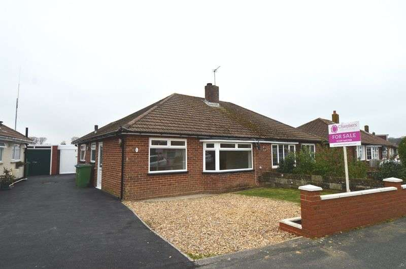 2 Bedrooms Semi Detached Bungalow for sale in Beresford Road, Stubbington, Fareham