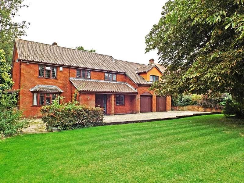 5 Bedrooms Detached House for sale in Harts Lane, Bawburgh, Norfolk, NR9