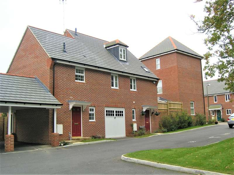 1 Bedroom Terraced House for sale in Coppice Pale, Chineham, Basingstoke, RG24