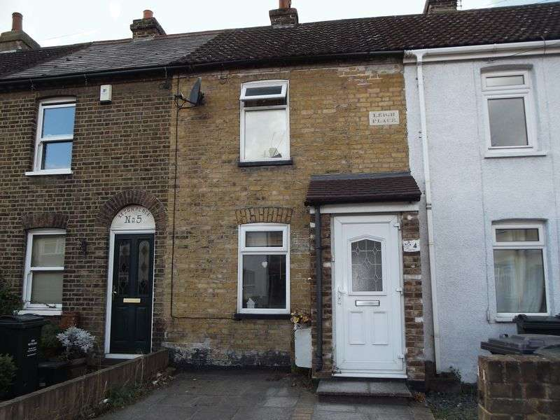 2 Bedrooms Terraced House for sale in Hawley Road, Dartford