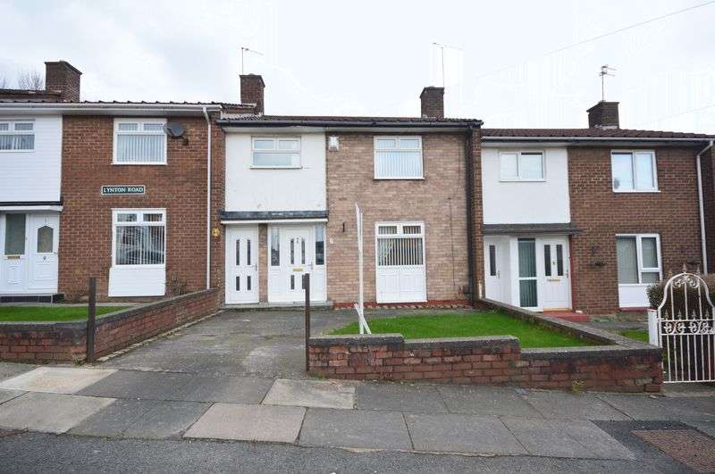 3 Bedrooms Terraced House for sale in Lynton Road, Huyton