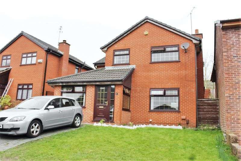 4 Bedrooms Detached House for sale in Barathea Close, Rochdale