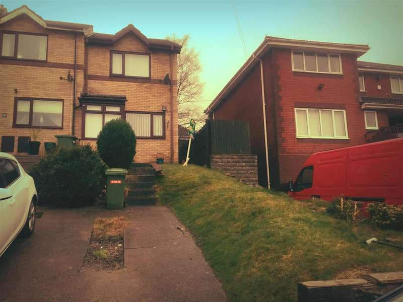 2 Bedrooms End Of Terrace House for sale in Clos Broniestyn, Pontypridd
