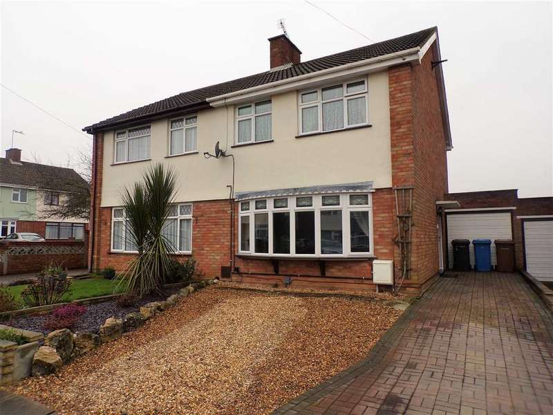 3 Bedrooms Semi Detached House for sale in Diamond Close, Ipswich