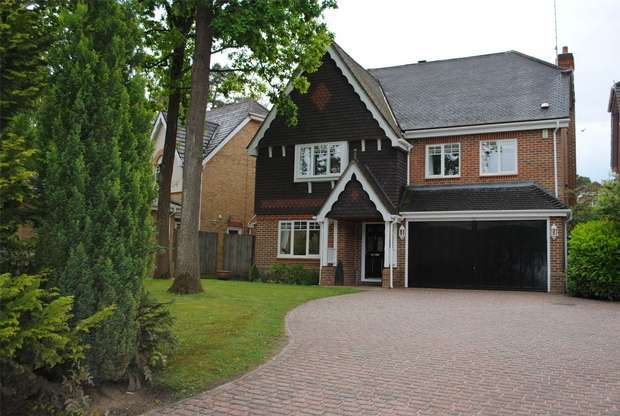 5 Bedrooms Detached House for sale in Royal Oak Drive, CROWTHORNE, Berkshire