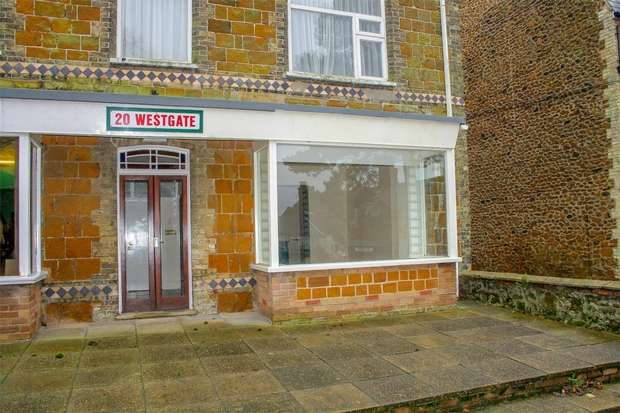 Commercial Property for sale in Shop No 1, 20 Westgate, Hunstanton
