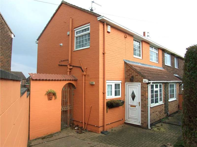 3 Bedrooms Semi Detached House for sale in Brackensdale Avenue, Kingsway, Derby, Derbyshire, DE22