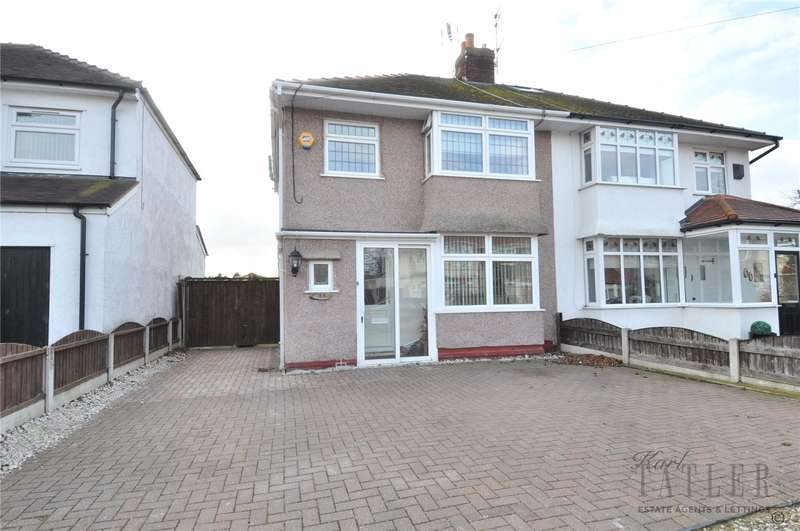 3 Bedrooms Semi Detached House for sale in Cortsway, Greasby, Wirral