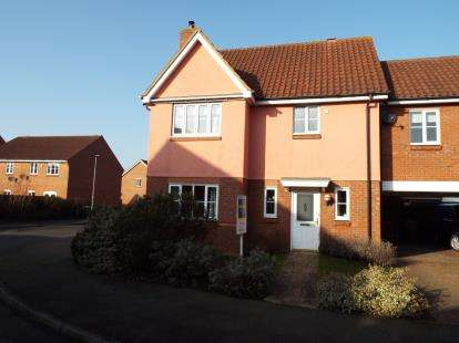 4 Bedrooms Link Detached House for sale in Downham Market, Norfolk