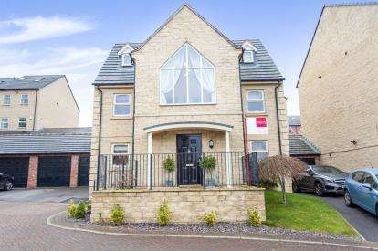 5 Bedrooms Detached House for sale in Mobray Drive, Woolley Grange, Barnsley, West Yorkshire