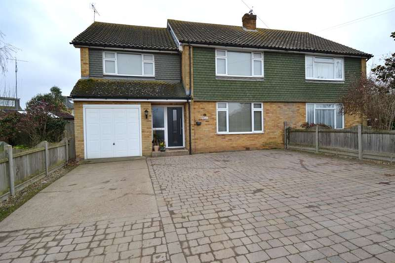 5 Bedrooms Semi Detached House for sale in Clifford Road, Whitstable