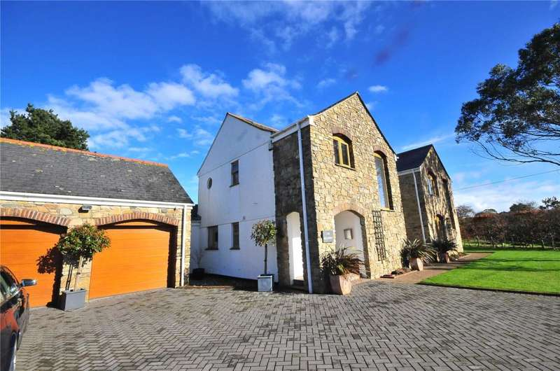 4 Bedrooms Detached House for sale in Chapel Lane, Crofthandy, Redruth