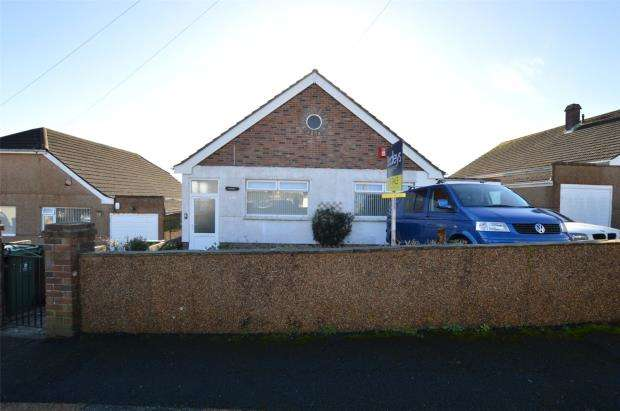 2 Bedrooms Detached Bungalow for sale in Homer Rise, Elburton, Plymouth, Devon
