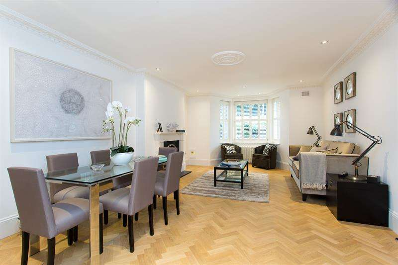 2 Bedrooms Flat for sale in Redcliffe Gardens, Earls Court, London, SW10