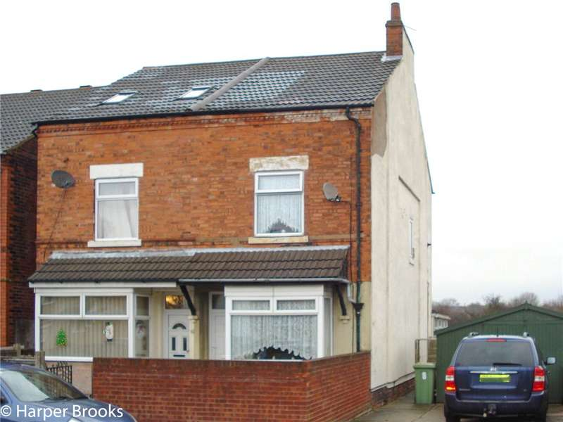 2 Bedrooms Semi Detached House for sale in Burlington Avenue, Langwith Junction, Mansfield, NG20