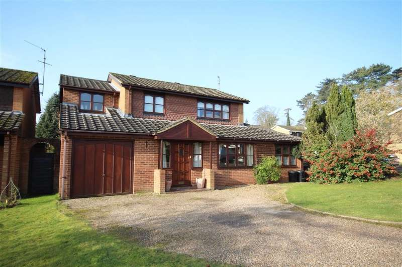 5 Bedrooms Detached House for sale in Ridgeway, Wargrave, RG10