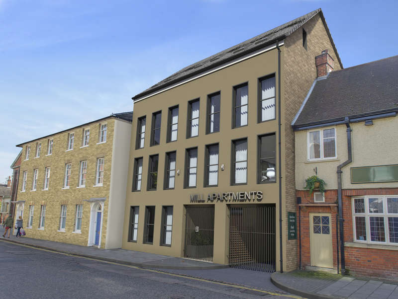 3 Bedrooms Apartment Flat for sale in Flat 6 (F), 41-43 Mill Street, Bedford, MK40