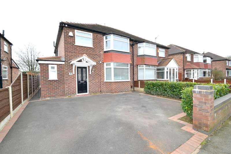3 Bedrooms Semi Detached House for sale in Morningside Drive, East Didsbury