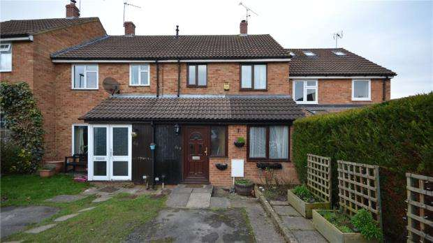 3 Bedrooms Terraced House for sale in Wordsworth Avenue, Yateley, Hampshire