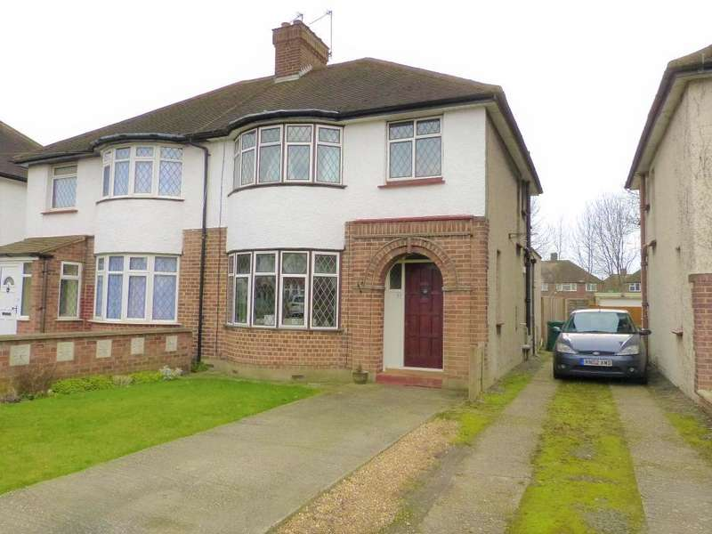 3 Bedrooms Semi Detached House for sale in Colbrook Avenue, Hayes, UB3 1TG