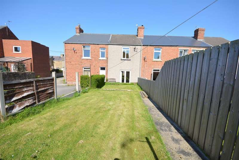 2 Bedrooms Terraced House for sale in West View, Hunwick, Crook, DL15 0LF