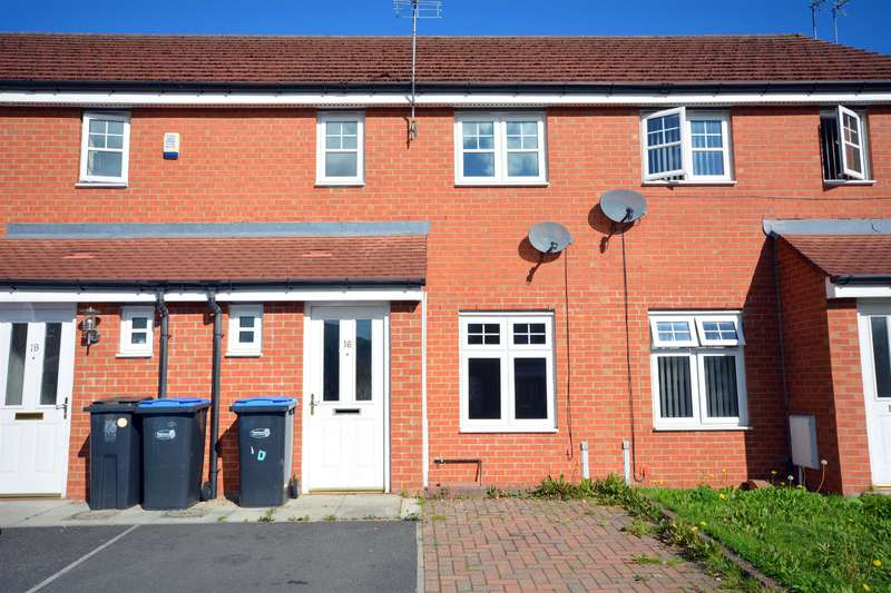 2 Bedrooms Terraced House for sale in Bishops Court, St. Helen Auckland, Bishop Auckland, DL14 9FB