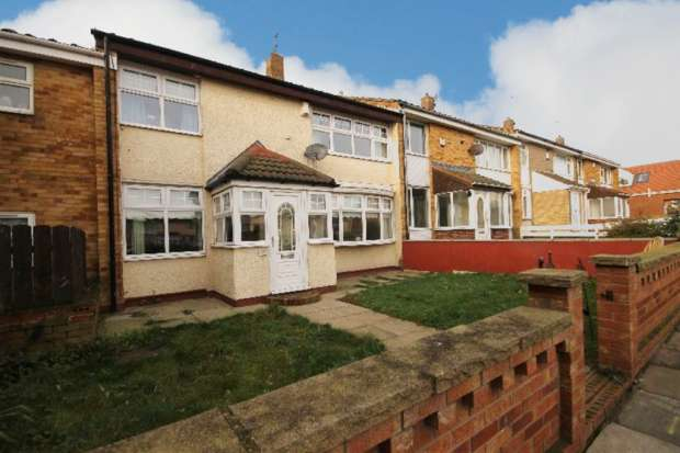 4 Bedrooms Terraced House for sale in Hazelwood Rise, Hartlepool, Cleveland, TS24 0LN