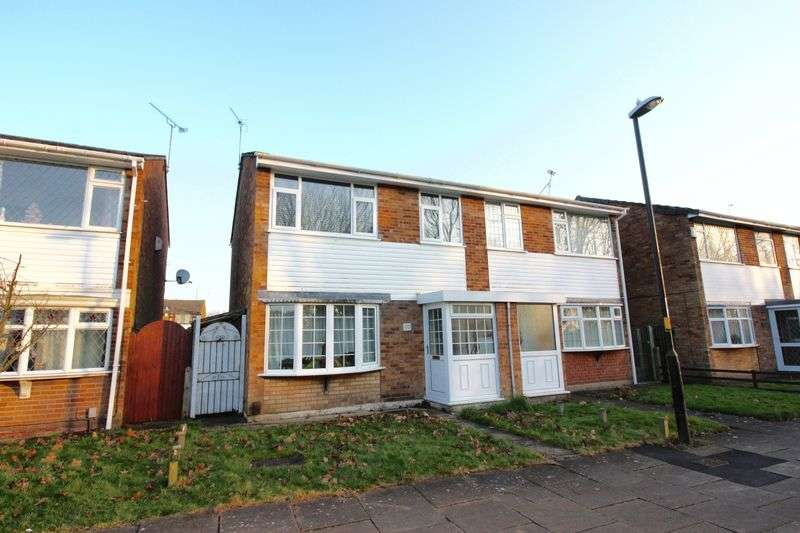 2 Bedrooms Semi Detached House for sale in Alvin Close, Binley,