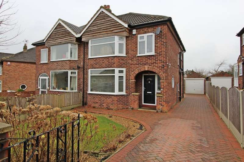 3 Bedrooms Semi Detached House for sale in Buckstone Avenue, Leeds, LS17