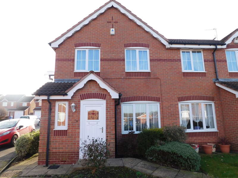 3 Bedrooms Semi Detached House for sale in Danvers Drive, Mansfield