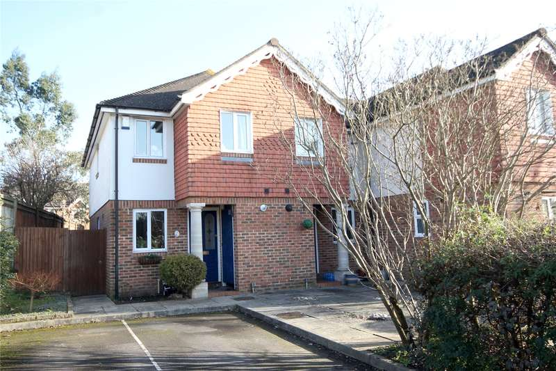 2 Bedrooms End Of Terrace House for sale in Squires Court, Chertsey, Surrey, KT16