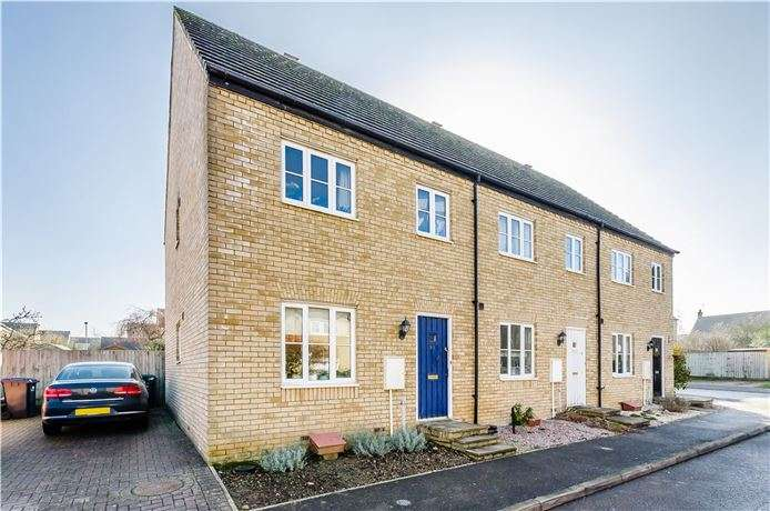 3 Bedrooms End Of Terrace House for sale in Brooke Grove, Ely