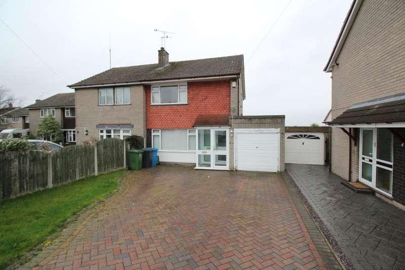 3 Bedrooms Semi Detached House for sale in Forrest Avenue, Essington, Wolverhampton, WV11