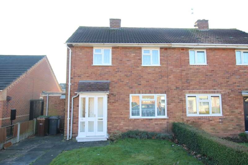 2 Bedrooms Semi Detached House for sale in Day Avenue, Wolverhampton, WV11