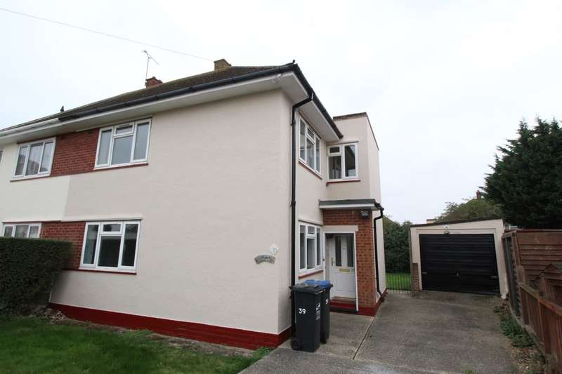 3 Bedrooms Semi Detached House for sale in Weyburn Drive, Ramsgate, CT12