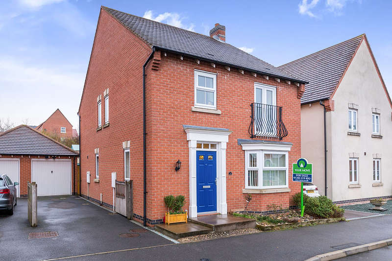 4 Bedrooms Detached House for sale in Greenmount Street, Church Gresley, SWADLINCOTE, DE11